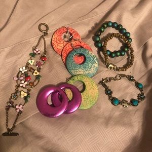 huge boho jewelry bundle